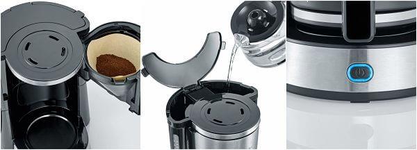 máquina café filtro como usar