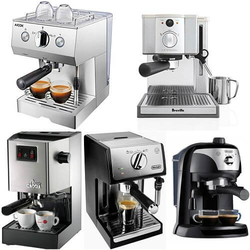 maquinas de cafe espresso manuales