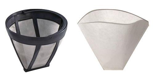 tipos de filtro cafetera