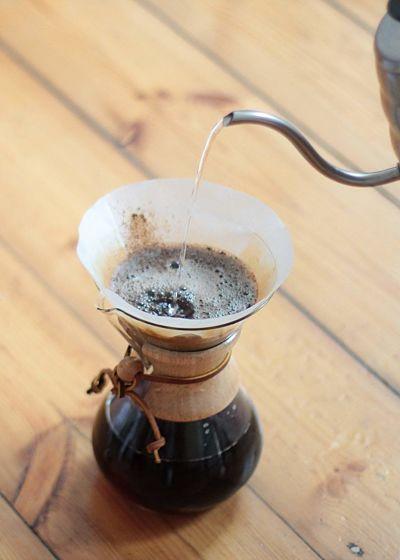 como hacer cafe con chemex